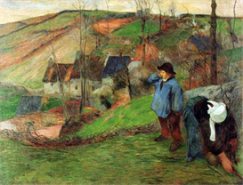 Image Photo Breton Shepherd Gauguin | Photos and Images | Vintage