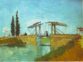 Image Photo Bridge at Arles  Van Gogh | Photos and Images | Vintage
