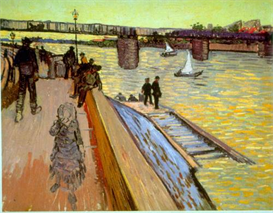 Image Photo Bridge Van Gogh | Photos and Images | Vintage