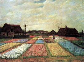 Image Photo Bulb Fields Van Gogh | Photos and Images | Vintage