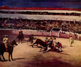 Image Photo Bullfight Manet | Photos and Images | Vintage
