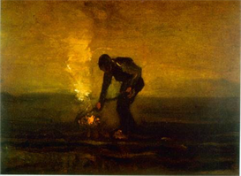 Image Photo Burning Weeds Van Gogh | Photos and Images | Vintage