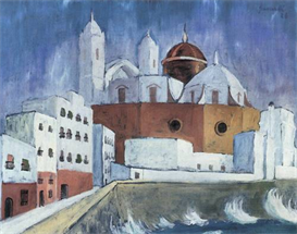 Image Photo Cadiz Walter Gramatte Expressionism | Photos and Images | Vintage