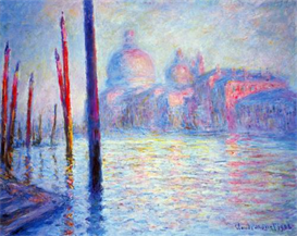 Image Photo Canal Grand Monet | Photos and Images | Vintage