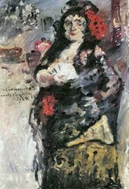 Image Photo Carmencita Lovis Corinth Impressionism European | Photos and Images | Vintage