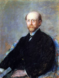 Image Photo Cassatt Mary - Moise Dreyfus 1879 Impressionism | Photos and Images | Vintage