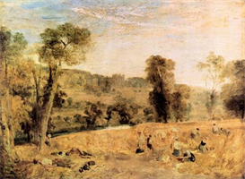 Image Photo Cassiobury Park - Harvest Joseph Mallord Turner | Photos and Images | Vintage