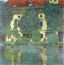 Image Photo Castle at the Attersee Klimt | Photos and Images | Vintage