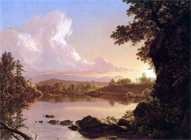 Image Photo Catskill Creek Frederick Edwin Church | Photos and Images | Vintage