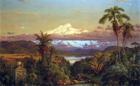 Image Photo Cayambe, Ecuador Frederick Edwin Church | Photos and Images | Vintage