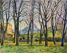 Image Photo Chestnut Trees in Jas de Bouffan Cezanne | Photos and Images | Vintage