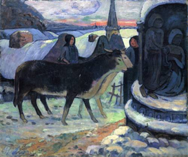 Image Photo Christmas Gauguin | Photos and Images | Vintage