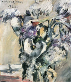 Image Photo Chrysanthimums and Calla Lillies Lovis Corinth Impressionism European | Photos and Images | Vintage