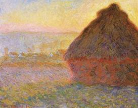 Image Photo Claude Monet - Graystacks I | Photos and Images | Vintage
