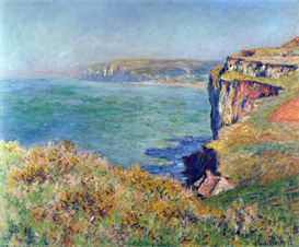 Image Photo Cliffs at Varengeville Monet | Photos and Images | Vintage