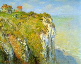 Image Photo Cliffs Monet Impressionism | Photos and Images | Vintage