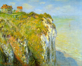 Image Photo Cliffs Monet | Photos and Images | Vintage