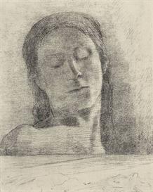 Image Photo Closed eyes Odilon Redon Symbolism | Photos and Images | Vintage