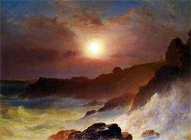 Image Photo Coast Scene, Mount Desert Frederick Edwin Church | Photos and Images | Vintage