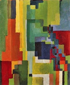 Image Photo Colored forms (II) August Macke Expressionism | Photos and Images | Vintage