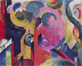 Image Photo Composition III Franz Marc | Photos and Images | Vintage