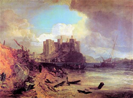 Image Photo Conway Castle Joseph Mallord Turner | Photos and Images | Vintage
