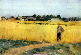 Image Photo Cornfield Morisot | Photos and Images | Vintage