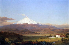 Image Photo Cotopaxi, Ecuador [2] Frederick Edwin Church | Photos and Images | Vintage