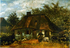 Image Photo Cottage Van Gogh | Photos and Images | Vintage