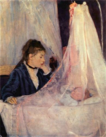 Image Photo Cradle Morisot Impressionism | Photos and Images | Vintage