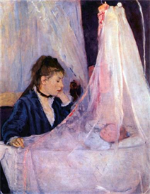 Image Photo Cradle Morisot | Photos and Images | Vintage