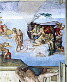 Image Photo Creation Story - The Deluge Michelangelo | Photos and Images | Vintage