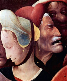 Image Photo Crucifixion (detail) Bosch | Photos and Images | Vintage