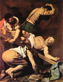 Image Photo Crucifixion of St. Paul Caravaggio | Photos and Images | Vintage