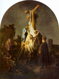 Image Photo Crucifixion Rembrandt | Photos and Images | Vintage