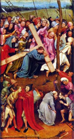 Image Photo Crucifixion transmission (Christ on Calvary) Bosch | Photos and Images | Vintage