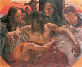 Image Photo Crucify Lovis Corinth Impressionism European | Photos and Images | Vintage
