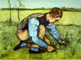 Image Photo Cutting Grass Van Gogh | Photos and Images | Vintage