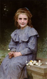 Image Photo Daisies_lg Bouguereau | Photos and Images | Vintage