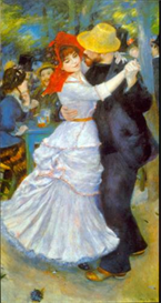Image Photo Dance at Bougival Renoir Impressionism | Photos and Images | Vintage
