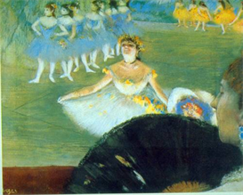 Image Photo Dance with Bouquet Degas Impressionism | Photos and Images | Vintage