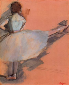 Image Photo Dancer at the bar #1 Degas | Photos and Images | Vintage
