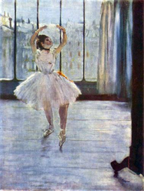 Image Photo Dancer being photographed Degas Impressionism | Photos and Images | Vintage