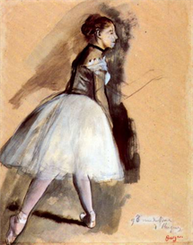 Image Photo Dancer in step position #1 Degas | Photos and Images | Vintage