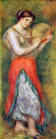 Image Photo Dancer with tamborine Renoir | Photos and Images | Vintage
