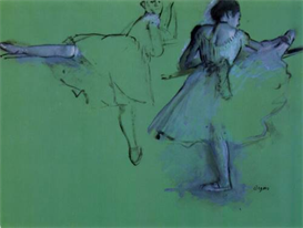 Image Photo Dancers at the bar #2 Degas | Photos and Images | Vintage