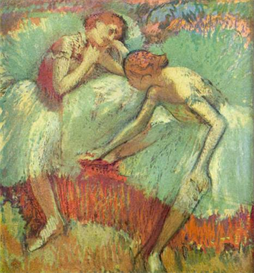 Image Photo Dancers in green Degas | Photos and Images | Vintage