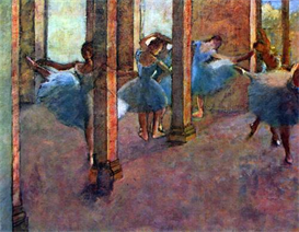Image Photo Dancers in the foyer Degas Impressionism | Photos and Images | Vintage