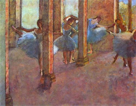 Image Photo Dancers in the Foyer Degas | Photos and Images | Vintage