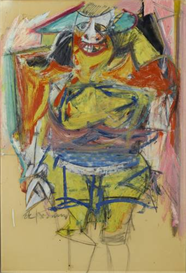 image photo de kooning - woman modernism